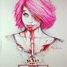zombie punk!Quinn by marlene freimanis