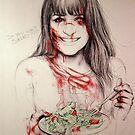 zombie Rachel by marlene freimanis