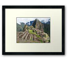 Mystical Machu Picchu, Peru Framed Print