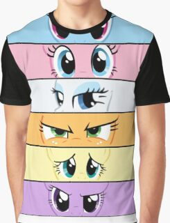 My Little Pony Eye Expressions Graphic T-Shirt