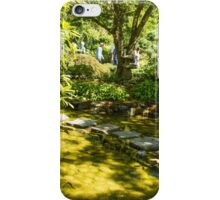 Stepping Stones, Butchart Garden iPhone Case/Skin
