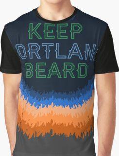 Keep Portland Beard Graphic T-Shirt