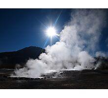 Tatio Geysers, Chile Photographic Print