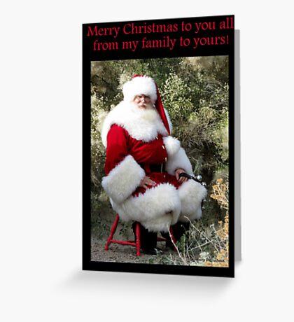 Sonoran Santa Clause Greeting Card