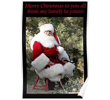 Sonoran Santa Clause Poster