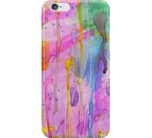 Watercolor Dripped iPhone Case/Skin