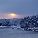 Christmas Sunset by EvaMcDermott