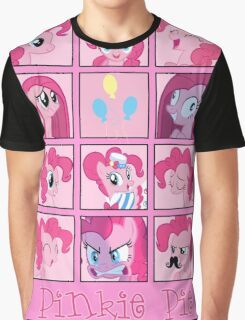 Faces of Pinkie Pie Graphic T-Shirt