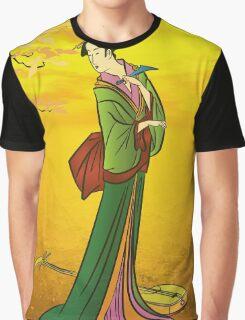 Beautiful Japanese girl Graphic T-Shirt