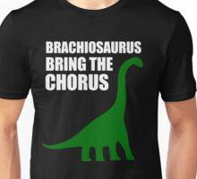 Brachiosaurus, Bring The Chorus (white design) Unisex T-Shirt
