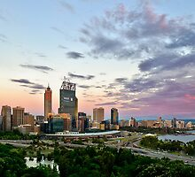 sunset perth by gaillard mathieu