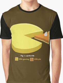 A Perfect Life - Geeky Gamer Shirt Graphic T-Shirt