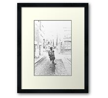 The Fixed Gear 2  Framed Print
