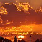 Sunset over Haj Terminal by Graham Taylor