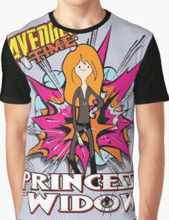 Avenger Time - Princess Widow Graphic T-Shirt