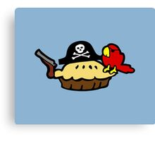 Pie Pirate Canvas Print
