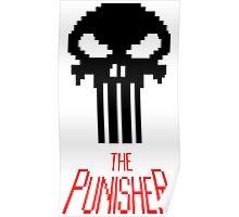 8-bit punisher Poster