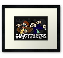 Ghostfacers! Framed Print