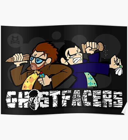 Ghostfacers! Poster