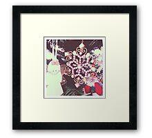 """snow flake"" Framed Print"