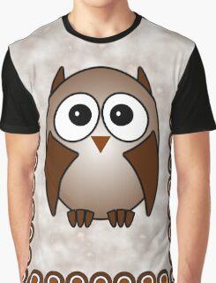 Little Cute Owl Graphic T-Shirt