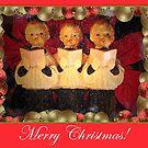 Merry Christmas by Brenda Boisvert