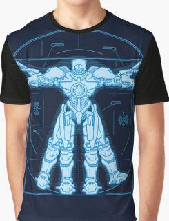 Vitruvian Jaeger Graphic T-Shirt