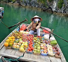 Floating fruit stand by Carl LaCasse