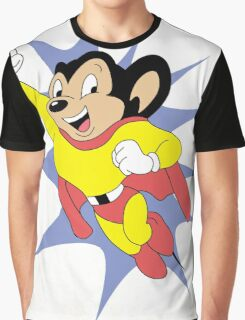 Mighty Mouse  Graphic T-Shirt