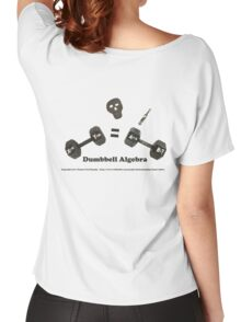 Dumbbell Algebra Women's Relaxed Fit T-Shirt