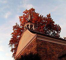 Old Dutch Church of Sleepy Hollow, NY, USA by Jane Neill-Hancock