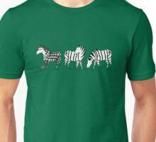 Hipster Zebra Unisex T-Shirt