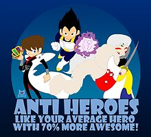 Anti Heroes by LillyKitten