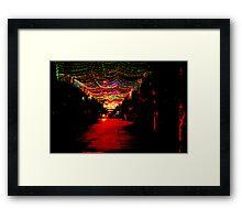 Sai Gon at night! Framed Print
