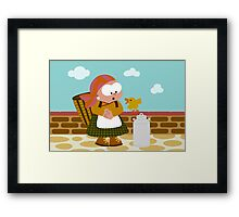 Market Day Framed Print