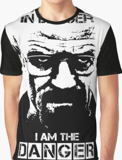 Breaking Bad - Heisenberg - I am the danger! T-shirt Graphic T-Shirt