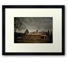 Country Living Hill End Framed Print