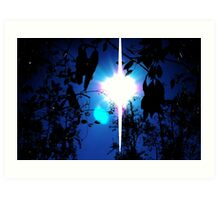 The Night and The Sun Art Print