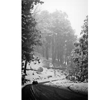 Mt Buller Snow Photographic Print