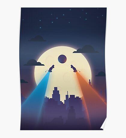 Chasing Balls Poster
