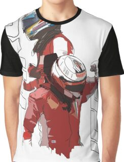 Alonso & Kimi (Fire & Ice) Graphic T-Shirt