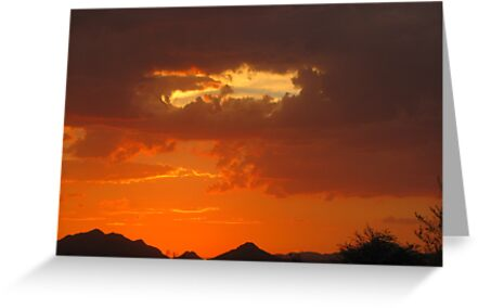 Arizona Sunset ~9 by Kimberly Chadwick