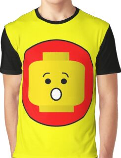 MINIFIG SHOCKED FACE Graphic T-Shirt