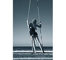 Trapeze Beach Camp Photographic Print