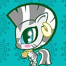 Weeny My Little Pony- Zecora by LillyKitten