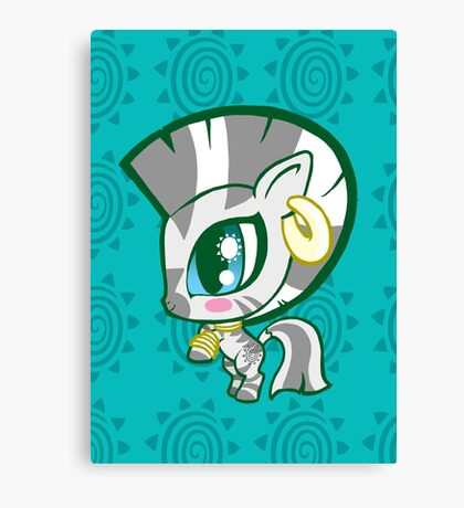 Weeny My Little Pony- Zecora Canvas Print