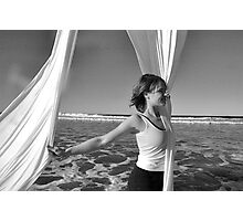 Trapeze Beach Camp Photographic Print