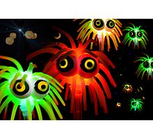 intergalactic space invaders Photographic Print