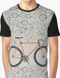 Fixed gear bikes Graphic T-Shirt