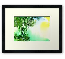 Green 1 Framed Print